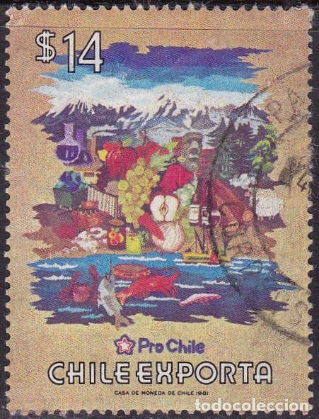 1981 - CHILE - EXPORTACIONES - MICHEL 959 (Sellos - Extranjero - América - Chile)