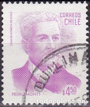 1982 - CHILE - PEDRO MONTT - PRESIDENTE - MICHEL 983 (Sellos - Extranjero - América - Chile)