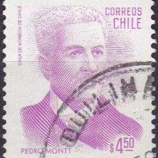Sellos: 1982 - CHILE - PEDRO MONTT - PRESIDENTE - MICHEL 983. Lote 151624926