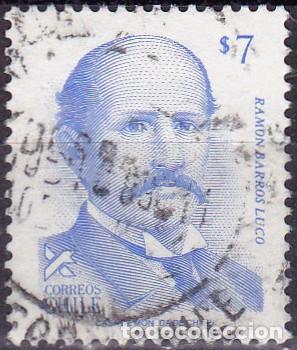 1983 - CHILE - RAMON BARROS LUCO - PRESIDENTE - MICHEL 1011 (Sellos - Extranjero - América - Chile)