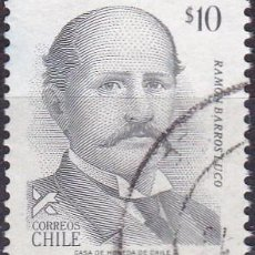 Sellos: 1983 - CHILE - RAMON BARROS LUCO - PRESIDENTE - MICHEL 1032. Lote 151631286