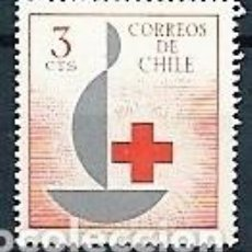Francobolli: CHILE,1963,CENTENARIO DE LA CRUZ ROJA,YVERT 300,NUEVOS,MNH**. Lote 151877986