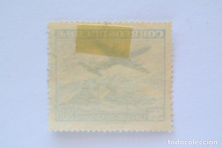 Sellos: ANTIGUO Sello postal CHILE 1959 , 200 $, AVION SOBRE PORTADO DE ANTOFAGASTA , LAN , Usado - Foto 2 - 157774274