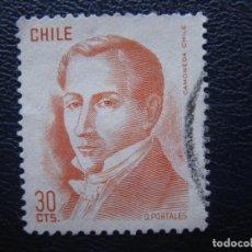 Sellos: CHILE, SELLO USADO. Lote 168613980