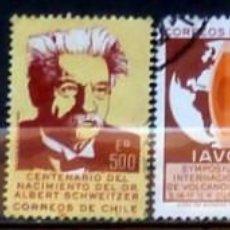 Sellos: SELLOS CHILE - FOTO 282 , USADO. Lote 169193700