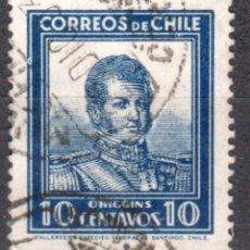 Sellos: CHILE - UN SELLO - IVERT#CL-151 **BERNARDO O´HIGGINS**- AÑO 1932 - SIN GOMA MATASELLLADO. Lote 175534160