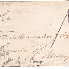 Sellos: ENTERO POSTAL CIRCULADO CHILE 1892. Lote 176955150