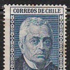 Sellos: CHILE Nº 317, CENTENARIO DE LW UNIVERSIDAD DE SANTIAGO DE CHILE, MANUEL MONTT (AÑO 1942), NUEVO ***. Lote 178723200