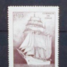 Sellos: CHILE NAVIO VELERO SELLO NUEVO. Lote 180966241