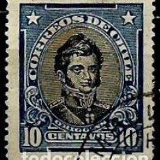 Sellos: CHILE SCOTT: 0173 (BERNARDO O'HIGGINS) USADO. Lote 181199852