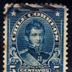 Sellos: CHILE // YVERT 89 // 1911. Lote 181967873