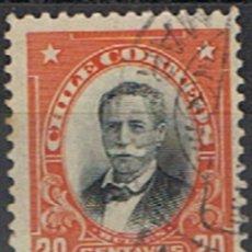 Sellos: CHILE // YVERT 93 // 1911. Lote 181995938