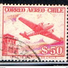 Sellos: (XIL 366) CHILE // YVERT 167 // 1956-57. Lote 182321173