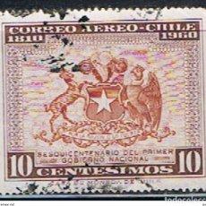 Sellos: (XIL 214) SELLO CHILE // YVERT 201 AEREO // 1960. Lote 182617696