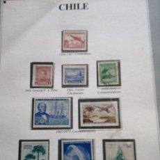 Sellos: HOJAS SELLOS DE CHILE. Lote 182832951