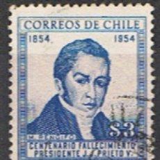 Sellos: (XIL 74) CHILE // YVERT 255 // 1955-56. Lote 183012592