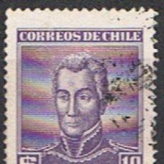 Sellos: SELLO CHILE // YVERT 262 // 1956-58. Lote 183014631