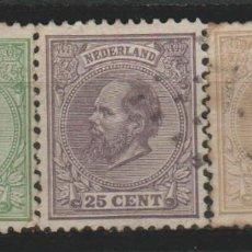 Sellos: LOTE (10) SELLOS HOLANDA UNOS 30 EUROS CATALOGO AÑO 1872. Lote 184014878