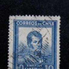Sellos: CORREO DE CHILE, 10 CENTAVOS, O,HIGGINS, AÑO 1932. . Lote 184731581