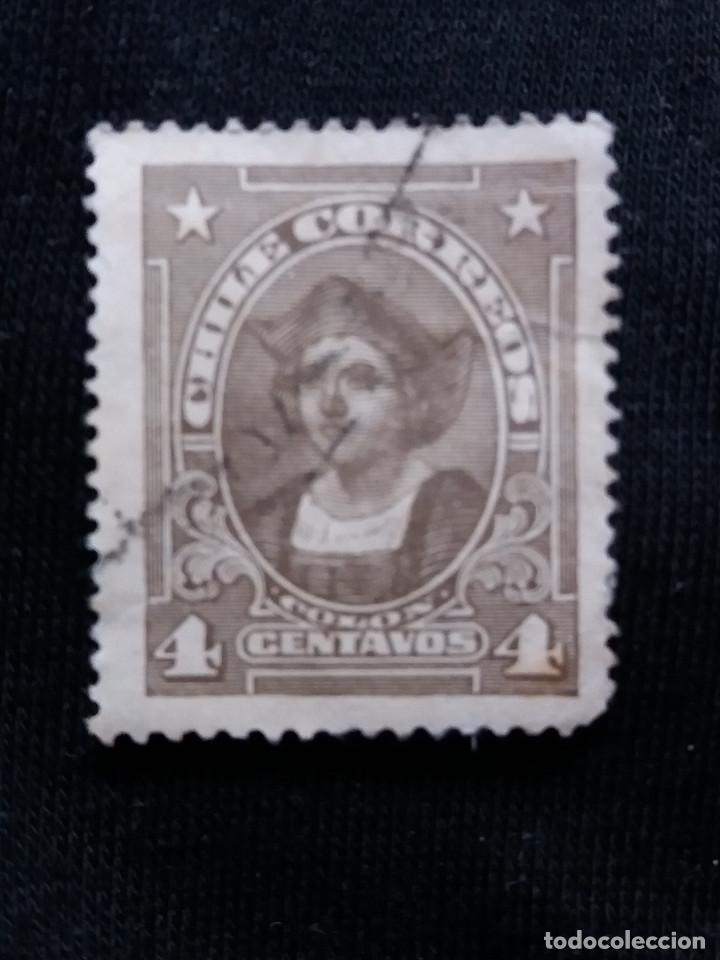 CORREO DE CHILE, 4 CENTAVOS, COLON, AÑO 1912. (Sellos - Extranjero - América - Chile)