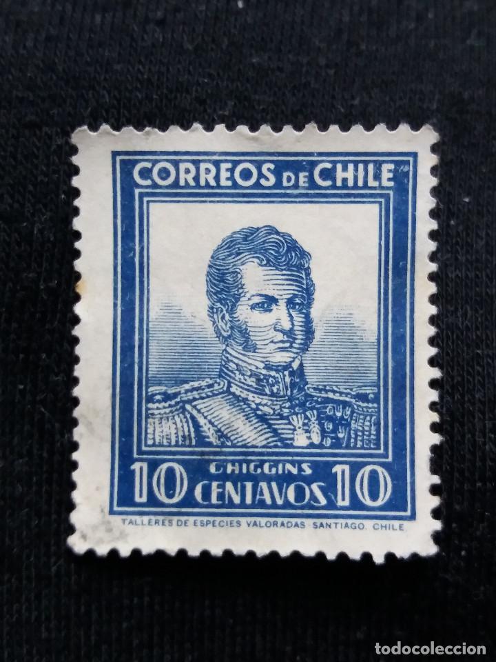 CORREO DE CHILE, 10 CENTAVOS, O,HIGGINS, AÑO 1932. SIN USAR (Sellos - Extranjero - América - Chile)