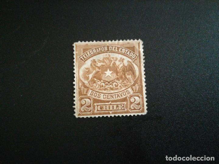 SELLO ANTIGUO CHILE SIN GOMA (Sellos - Extranjero - América - Chile)