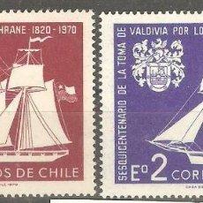 Sellos: CHILE, 1970, CAT.YT. 343 Y PA 264. NUEVOS,GOMA ORIGINAL,SIN FIJASELLOS.. Lote 186113473