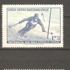 Sellos: CHILE,1966,2 V,NUEVOS,G.ORIGINAL,SIN FIJASELLOS YT 232/233,GOMA ALGO DETERIORADA.. Lote 186113616