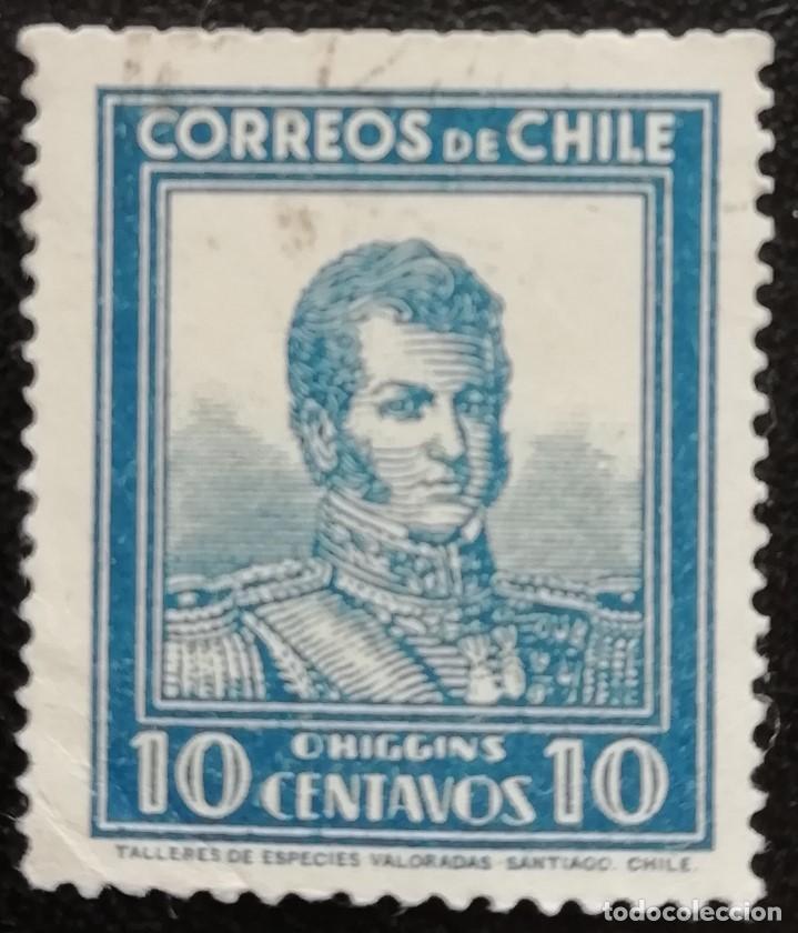 1931. HISTORIA. CHILE. 151. RETRATO DEL GENERAL BERNARDO O'HIGGINS. SERIA CORTA. USADO. (Sellos - Extranjero - América - Chile)