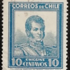 Sellos: 1931. HISTORIA. CHILE. 151. RETRATO DEL GENERAL BERNARDO O'HIGGINS. USADO.. Lote 186386755