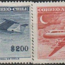 Sellos: LOTE E SELLOS CHILE AEREO ALTO VALOR. Lote 188736673