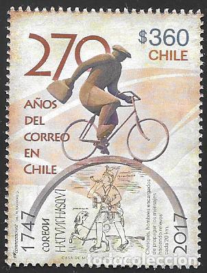 CHILE (Sellos - Extranjero - América - Chile)