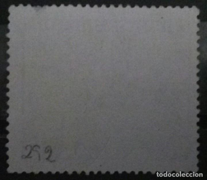 Sellos: Sello Chile, Flor Nacional 10 c - Centésimo Chileno 1962, - Foto 2 - 194621517