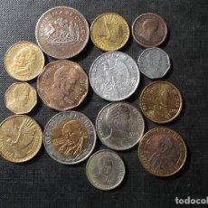 Sellos: CONJUNTO DE MONEDAS DE CHILE EN BUEN ESTADO VER FOTOS. Lote 199674871