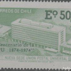 Sellos: LOTE (2) SELLO CHILE NUEVO SIN CHARNELA. Lote 221255345