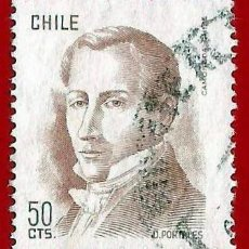 Sellos: CHILE. 1975. DIEGO PORTALES. Lote 222407941