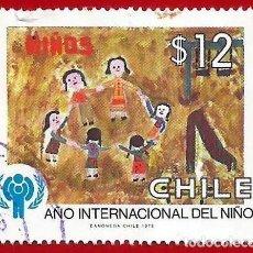 Sellos: CHILE. 1979. AÑO INTERNACIONAL DEL NIÑO. Lote 222408196
