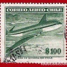 Sellos: CHILE. 1955. AVION HAVILLAND DH.106 COMET. Lote 222430910