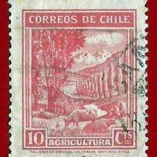 Sellos: CHILE. 1939. AGRICULTURA. Lote 222455656