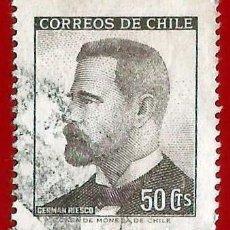 Sellos: CHILE. 1966. GERMAN RIESCO. PRESIDENTE. Lote 222456651