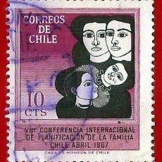 Sellos: CHILE. 1967. PLANIFICACION FAMILIAR. Lote 222456791