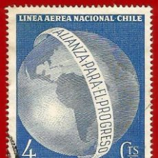 Sellos: CHILE. 1964. EN HONOR DE JOHN F. KENNEDY. Lote 222457847
