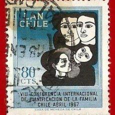 Sellos: CHILE. 1967. PLANIFICACION FAMILIAR. Lote 222458136