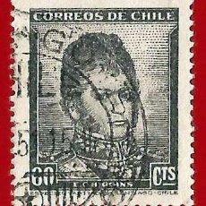Sellos: CHILE. 1948. BERNARDO O' HIGGINS. Lote 222574103