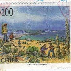 Sellos: AMÉRICA. CHILE. ECOTURISMO EN PARQUES NACIONALES. YT1397. USADO CON CHARNELA. Lote 232011090