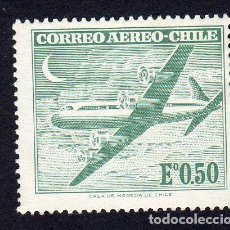 Sellos: AMÉRICA. CHILE. CORREO AÉREO. SERIE BASICA 1962-67, YT209. NUEVO SIN CHARNELA. Lote 236610680