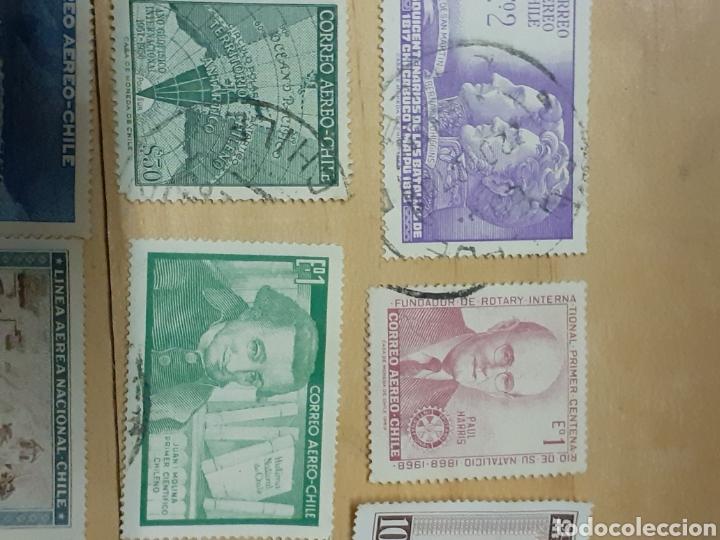 Sellos: Lote de sellos de Chile, varios años - Foto 2 - 237170095