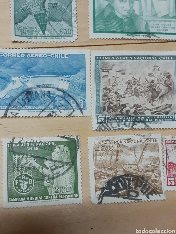 Sellos: Lote de sellos de Chile, varios años - Foto 4 - 237170095