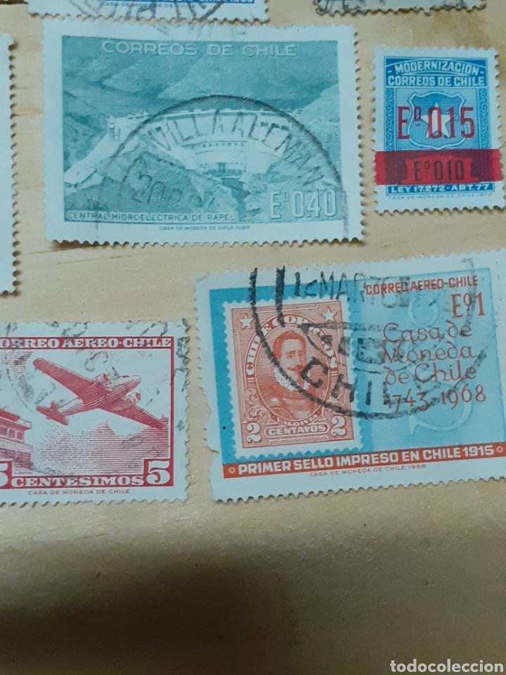 Sellos: Lote de sellos de Chile, varios años - Foto 5 - 237170095