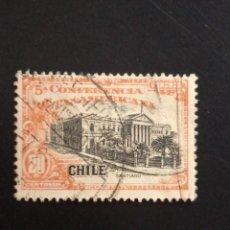 Sellos: CHILE 20 CENTS SANTIAGO DE CHILE AÑO 1923... Lote 243068640
